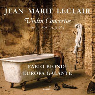 Leclair Violin Concertos Biondi