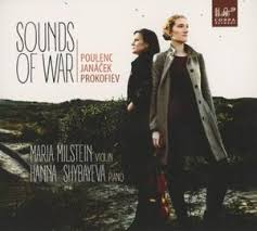 Cover CD Sounds of war van Milstein & Shybayeva